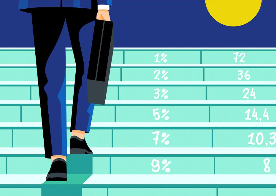 «Правило 72»: как быстро рассчитать, через сколько лет удвоится ваш капитал